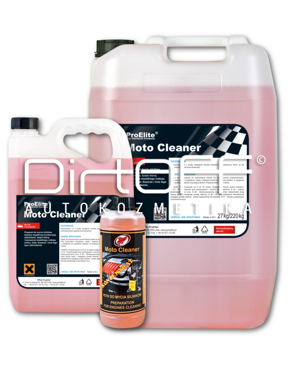 Moto Cleaner Image